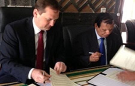 Подписание Конвенции о совместном сотрудничестве между ТПП Украины и СТПП Йемена