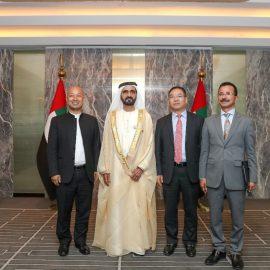 Мохаммед бин Рашид присутствовал на открытии «Рынка торговцев» в Дубае 26 апреля 2019 года
